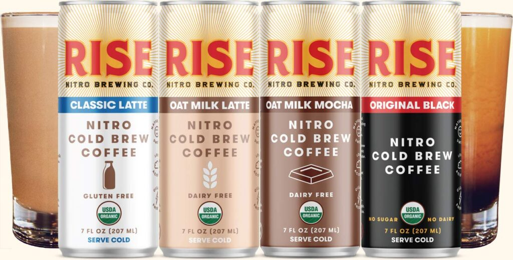 The Best Nitro Cold Brew Coffee In A Can Rise