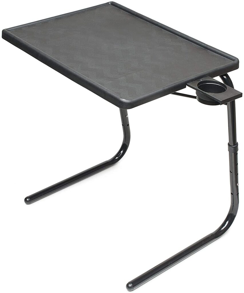 Best TV Tray Table With Cup Holder / Best Foldable Slide Under Sofa Table